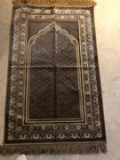 Modefa Plush Velvet Prayer Rug Simple Floral Beige Review