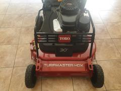 GYC Mower Depot Toro Turfmaster HDX Commercial Petrol Lawn Mower Review