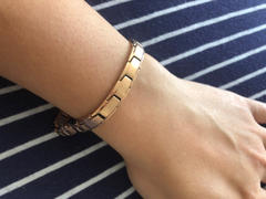 Infinity Pro - Ionic + Magnetic Jewellery Slimline Rose Gold Titancore Titanium Magnetic Bracelet Review