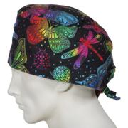 SurgicalCaps.com XL Scrub Caps Butterfly World Review