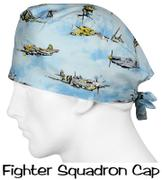 SurgicalCaps.com Scrub Caps Fighter Squadron Review