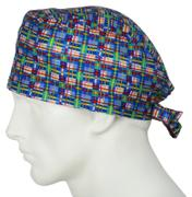 SurgicalCaps.com Scrub Cap Birdland Plaid Review