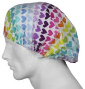 SurgicalCaps.com Bouffant Scrub Hat Showtime Hearts Review