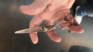 iCandy Scissors iCandy LUXE DAMA2 Damascus Rose Gold Scissors (6.0 inch) Limited Edition Review