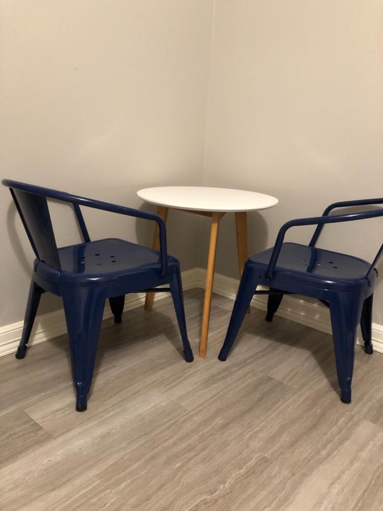 Admirable Costanoa Side Table Poly Bark Machost Co Dining Chair Design Ideas Machostcouk