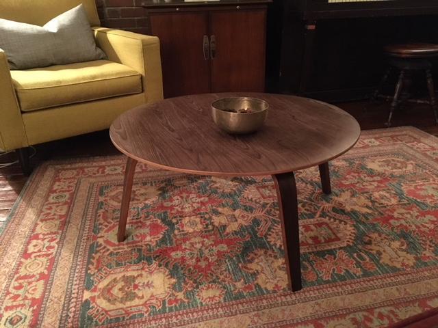 Groovy Eames Style Wood Coffee Table Ctw Poly Bark Machost Co Dining Chair Design Ideas Machostcouk
