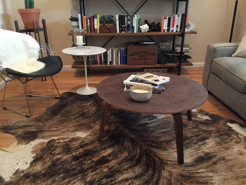 Prime Eames Style Wood Coffee Table Ctw Poly Bark Machost Co Dining Chair Design Ideas Machostcouk