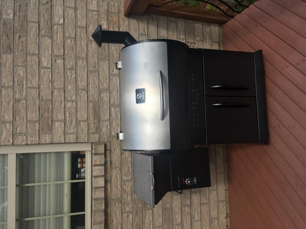 Z Grills 700e 8 In 1 Wood Pellet Grill Amp Smoker Included