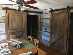 MJC & Company Classic | Single Barn Door Hardware | Matte Black Review