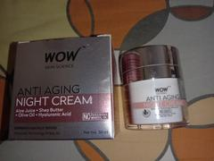 Buywow WOW Skin Science Anti Aging No Parabens & Mineral Oil Night Cream - 50 ml Review
