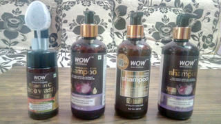 Buywow WOW Skin Science Hair Strengthening Shampoo - No Parabens, Sulphate & Silicones - 300mL Review