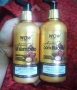 Buywow WOW Skin Science Moroccan Argan Oil Shampoo (with DHT Blocker) - No Sulphates, Parabens, Silicones, Salt & Colour - 300 ml Review