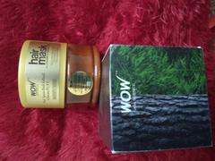 Buywow WOW Skin Science Black Spruce Bark Extract, Vitamin B5 & E Hair Mask for Colored & Treated Hair - 200 ml Review