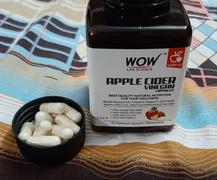 Buywow WOW Life Science Raw Apple Cider Vinegar 500 mg - 60 Vegetarian Capsules Review