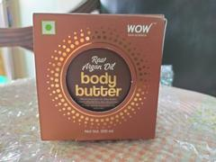 Buywow WOW Skin Science Raw Argan Oil Body Butter - No Parabens, Silicones, Mineral Oil & Color - 200 ml Review