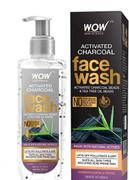 Buywow WOW Skin Science Activated Charcoal Face Wash - with Activated Charcoal & Tea Tree Oil Beads - Removes Pollutants & Dirt - No Parabens, Sulphate, Silicones & Color - 200 ml Review