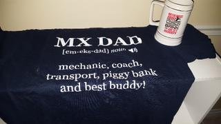 Diverse Threads Jobs of a Motocross Dad - Beer Stein Review