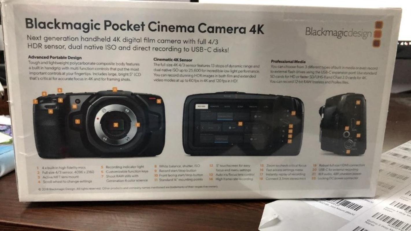 Buy Blackmagic Design Pocket Cinema Camera Bmpcc 4k Online In India Imastudent Com