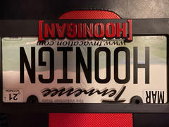 Hoonigan BRACKET LOGO PLATE FRAME Review