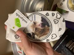 sockprints Print Your Pet's or Person's Photo on Socks - Dot Circle and Heart Design Review