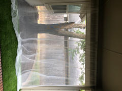 Mosquito Nets USA Heavy-Duty XL Porch & Patio Mosquito Netting - White Review