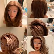 HairArt Int'l Inc. Miniature Courtney - African American [100% European Hair Mannequin] Review