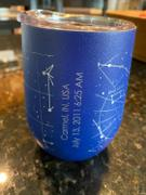 Well Told Custom Night Sky 12oz Insulated Wine Tumbler Review