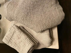 Rough Linen Waffle Linen Bath Towel Review