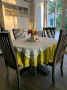Rough Linen Orkney Linen Round Tablecloth Review