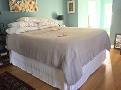 Rough Linen Orkney Linen Bed Skirt Review