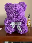 Dose of Roses Purple Rose Teddy Bear Review