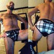 Skull & Bones, Inc. Black & White Plaid Brief Review