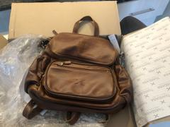KaryKase Thandana Leather Nappy Backpack Review