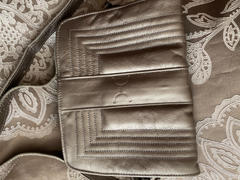 KaryKase Thandana Katie Metallic Leather Sling Clutch | Pewter Review
