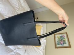 Quince Tall Italian Leather Tote Review
