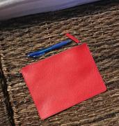 Quince Embossed Leather Pouch Review