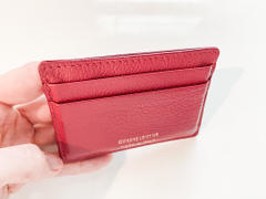 Quince Embossed Leather Card Case Review