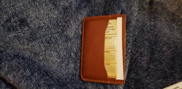 Quince Italian Veg Tanned Cardholder Review