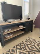 Tu Gow Mesa para tv gris y roble Review