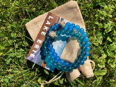 Homes Bracelets Lake Erie | Peacock Blue Recycled Glass Review