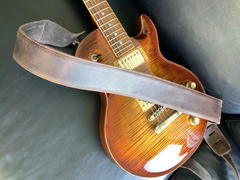 Steyner Straps Leder Gitarrengurt Vintage Quiet Shade Review