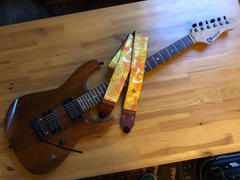 Steyner Straps Vintage Gitarrengurt schwarz - Tropical Nights Review