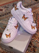Drip Creationz Monarch Orange Butterfly AF1 Review