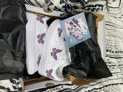 Drip Creationz Purple Butterfly AF1 Review