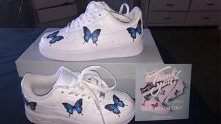 Drip Creationz Blue Drip Butterfly AF1 Review