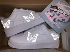 Drip Creationz Reflective Butterfly AF1 Review
