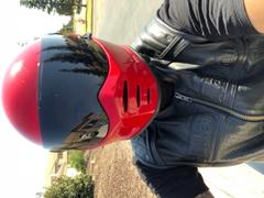 Biltwell Inc. Lane Splitter Helmet - Gloss Blood Red Review