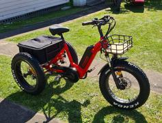 E-Ride Solutions Overide Whipper Deluxe Electric Trike Bike Review