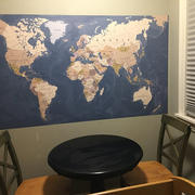 MUSE Wall Studio World Map Mural Review