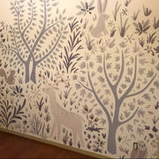 MUSE Wall Studio Woodland Forest Wall Mural on White Review